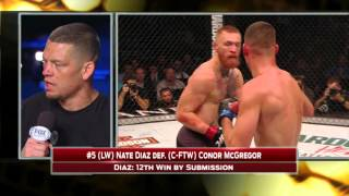 Video Nate Diaz discusses win over Conor McGregor (WARNING: Explicit Content) MP3, 3GP, MP4, WEBM, AVI, FLV Desember 2018