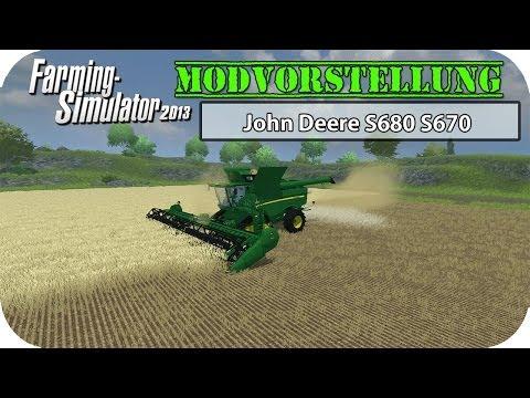 John Deere S680 S670 v1.0 MR