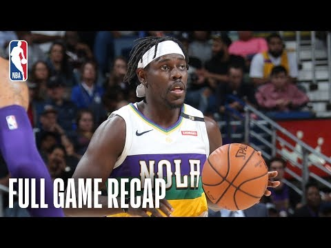 Video: LAKERS vs PELICANS | Jrue Holiday Leads New Orleans | February 23, 2019