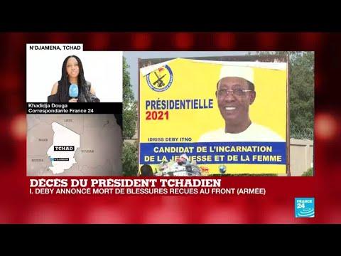Mort du président tchadien Idriss Déby au lendemain de l'annonce de sa victoire à l'élection présidentielle