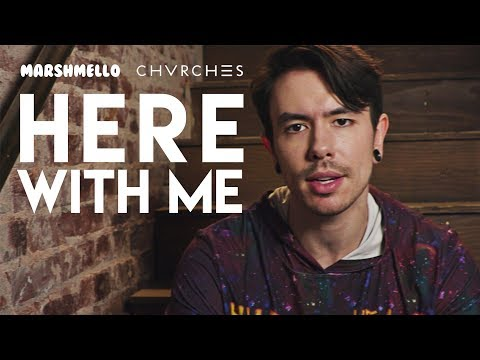 """marshmello  """"Here With Me"""" feat. Chvrches Cover by Nathan Sharp"""