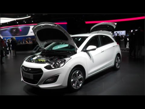 Hyundai i30 CNG 2015 In detail review walkaround Interior Exterior