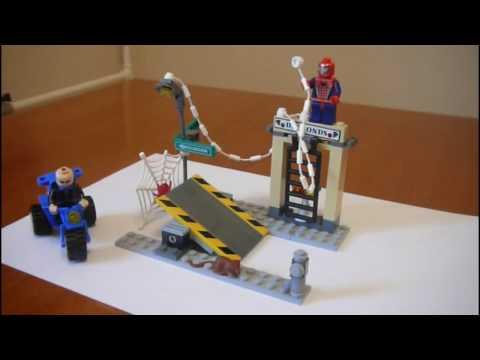 Video Lego Spider-Man 2 #4853 Street Chase - Mini-Cartoon & Speed Build download in MP3, 3GP, MP4, WEBM, AVI, FLV January 2017