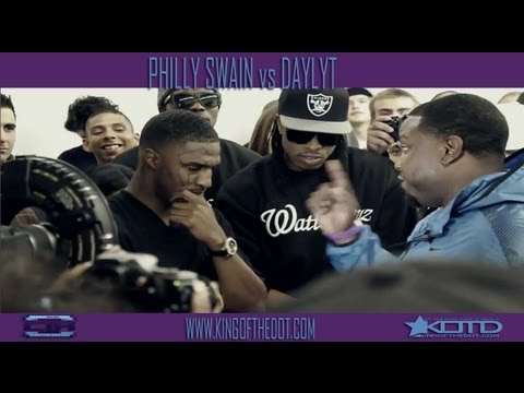 KOTD - Rap Battle - Philly Swain vs Daylyt