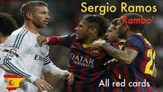 Sergio Ramos und seine roten Karten