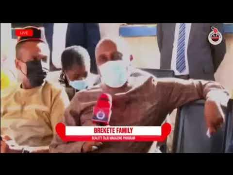 Amaechi, talking about the Port Harcourt-Maiduguri rail on the Brekete Family radio show