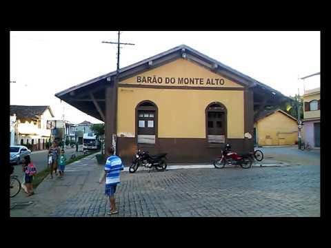 Estação Ferroviária de Barão do Monte Alto-MG