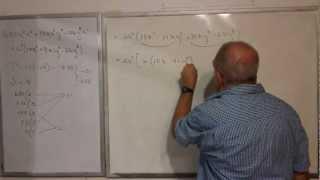 Algebra Intermedia - Lección 17 - A (trinomios Cuadráticos O De Tipo Cuadrático No Mónicos)