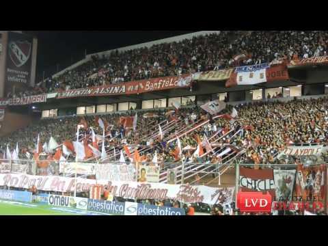 """(HD) """"Ponga huevo Independiente"""" / Hinchada de Independiente vs Rafaela - La Barra del Rojo - Independiente"""