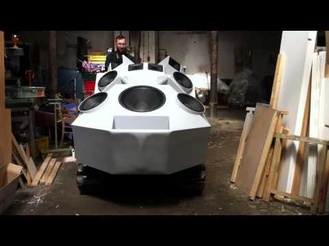 Nik Nowak   Panzer Sound Tank | 4,000 Watts Of Pure Hi Fi Assault