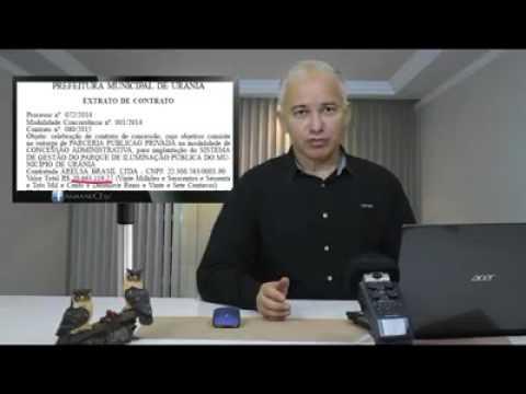 EXCLUSIVO - VÍDEO - (Urânia/Açailândia) Empresa de Iluminação chama sites e Blogs de levianos, mas não consegue explicar endereço falso em Urânia