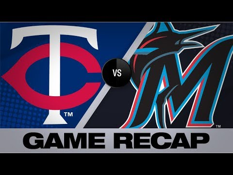 Video: Berrios K's 11 in Twins' 7-4 victory   Twins-Marlins Game Highlights 7/31/19