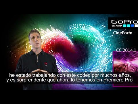 dhelmly - El Nuevo Adobe Premiere Pro CC y el Codec GoPro Cineform. En este video, les daré un breve tour de Adobe Premiere Pro CC 2014.1 (nueva versión para el otoño ...