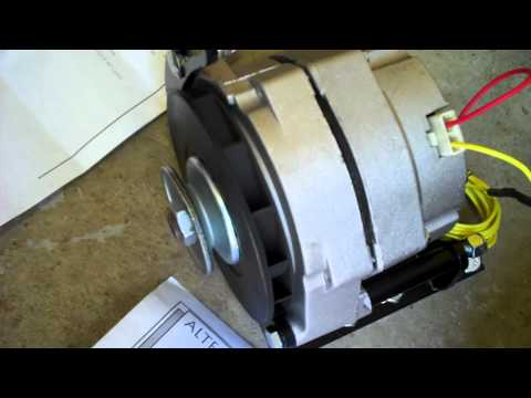 how to hook up a 3 wire alternator
