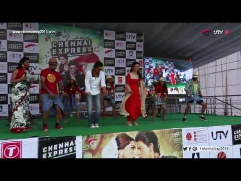 Chennai Express – Shah Rukh Khan & Deepika Padukone – Jalandhar