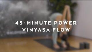 Video 45-Minute Power Vinyasa Flow With Briohny Smyth MP3, 3GP, MP4, WEBM, AVI, FLV Maret 2018