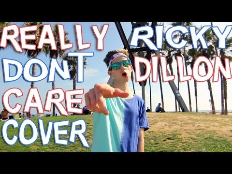 REALLY DON'T CARE – DEMI LOVATO (COVER BY RICKY DILLON) MUSIC VIDEO