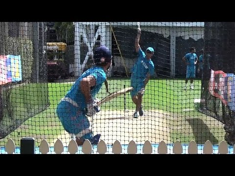 2015 WC IND VS AUS Watch Team Indias net session