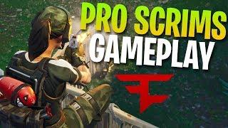 0 DAMAGE TAKEN! FaZe Pro Scrims Gameplay (Fortnite Battle Royale)