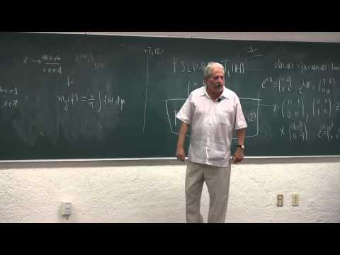 """""""Sobre el teorema de Hedlund..."""", conferencia de Alberto Verjovsky"""