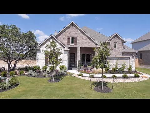 The Tulane Floor Plan Model Home Tour - Gehan Homes
