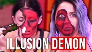 Nonton Illusion Demon Makeup Tutorial Halloween Fail  Beauty Break  Film Subtitle Indonesia Streaming Movie Download