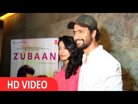 Vicky Kaushal & Sarah Jane Dias At Special Screening Of Film Zubaan
