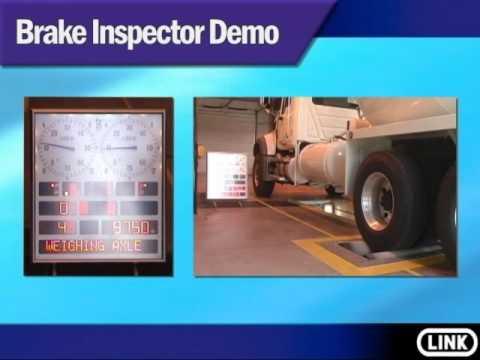 BM12200 Roller brake tester inspector complete test