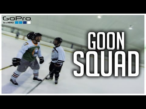 GoPro Hockey | THE GOON SQUAD *FIGHTS* (видео)