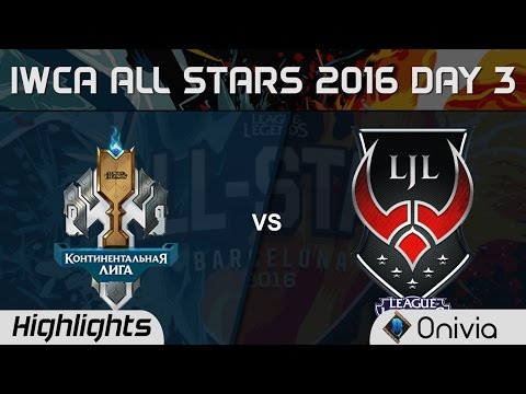 LCL vs LJL All for One Highlights IWCA Barcelona 2016 D3 CIS vs Japan