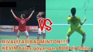Video ON FIRE...!!! KEVIN revenge action in China Open over BOE provocation in Indonesia MP3, 3GP, MP4, WEBM, AVI, FLV Agustus 2018