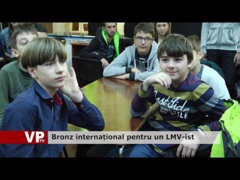 Bronz internațional pentru un LMV-ist