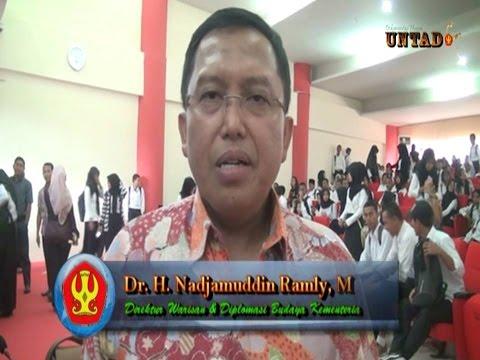 Dok Humas Untad, Dr H Nadjamuddin Ramly, M Si Mengapresiasi Perkembangan Universitas Tadulako