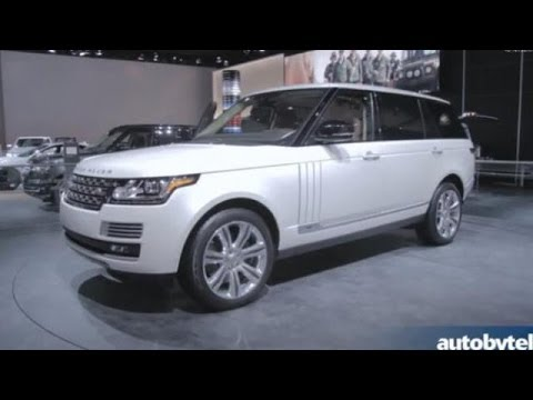 Talking About Land Rover at the 2014 Detroit Auto Show