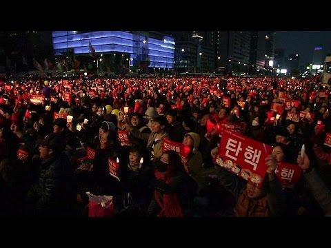 Σεούλ: Μαζική διαδήλωση κατά της προέδρου Παρκ
