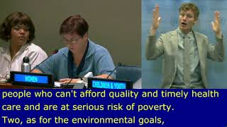 Aleksandra Mladenovic's Intervention at HLPF 2019: http://webtv.un.org