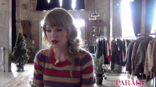 PARADE Magazine Goes Behind the Scenes With Taylor Swift