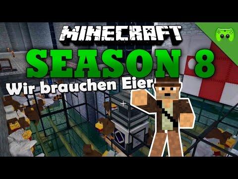 WIR BRAUCHEN EIER «» Minecraft Season 8 # 69 | Full HD