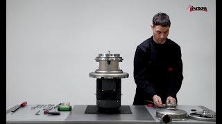 Výměna – dvojité mechanické ucpávky. Odstředivé čerpadlo PROLAC HCP