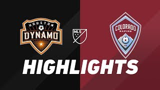 Houston Dynamo vs. Colorado Rapids | HIGHLIGHTS - August 17, 2019 by Major League Soccer