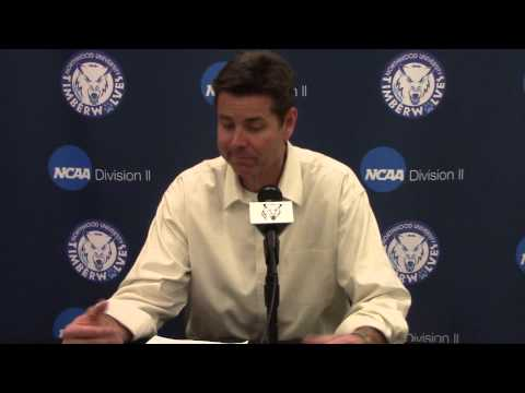 Northwood University Men's Basketball (2/7/15) SVSU 76, NU 72 - Press Conference