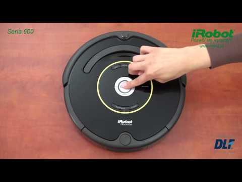 iRobot Roomba Wybór języka seria 600