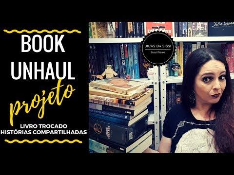 Projeto Livros Trocados Histórias Compartilhadas -  Book Unhaul | Dicas da Sissi