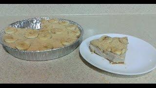 ingredientes : 1 paquete de galletas marias 1 barrita de mantequilla 2 platanos maduros 2 platanos verdes 1 lata de leche condensada 1 barra de queso philade...
