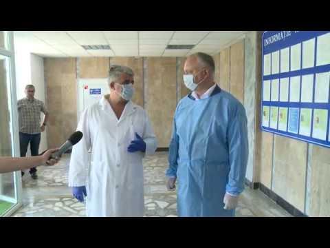 Președintele Moldovei a vizitat spitalul raionul din Taraclia