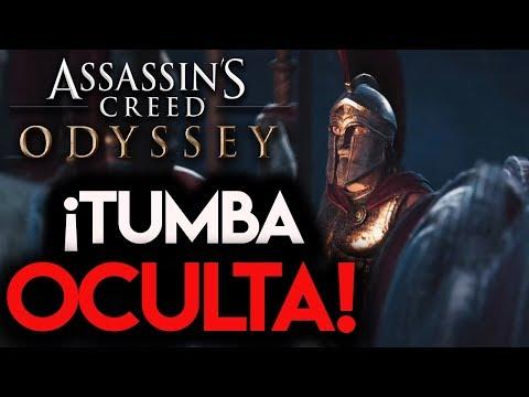 GAMEPLAY *TUMBA OCULTA* ASSASSIN'S CREED ODYSSEY - RAFITI