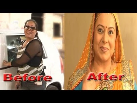 How Neelu turns to Bhabo of Diya Aur Baati Hum? -- Makeover (видео)