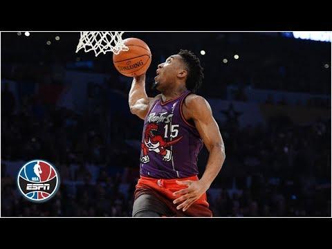 2018 NBA All-Star Dunk Contest: Donovan Mitchell wins it all  ESPN