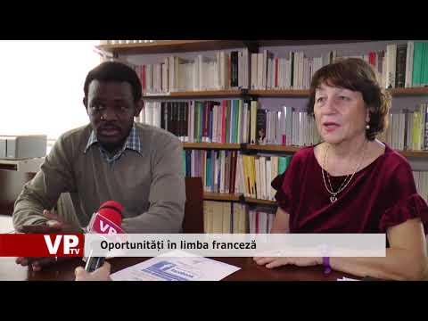 Oportunități în limba franceză