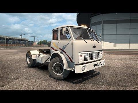 ОДИН ИЗ ЛУЧШИХ МОДОВ - МАЗ-500 - Euro Truck Simulator 2 (1.31.2.5s) (видео)